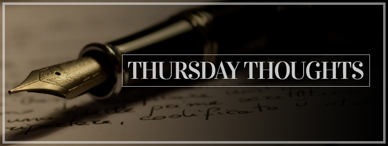 Thursday Thoughts - Discussion about books