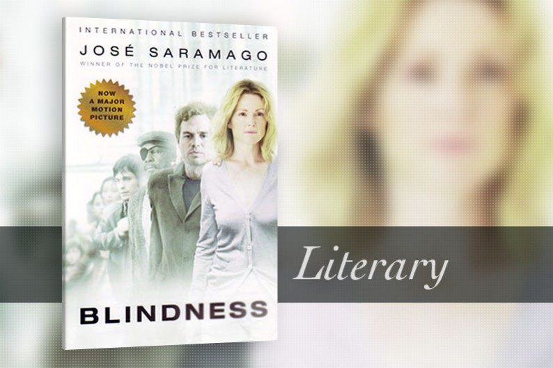 Blindness by José Saramago, Literary Fiction Book