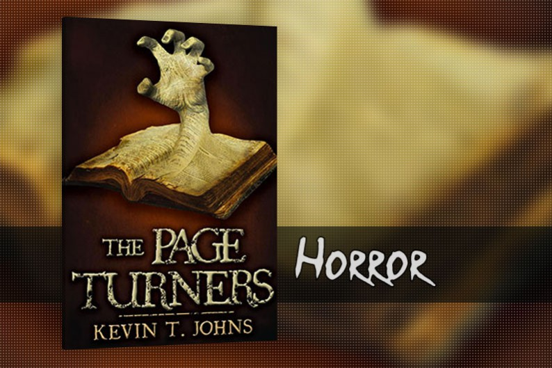 The Page Turners by Kevin T. Johns, Horror YA book