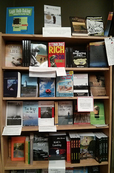 Perfect Books: local and self-published writers