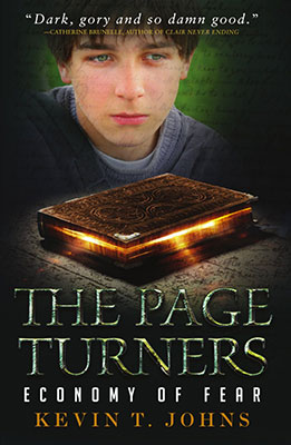 Review – The Page Turners #2: Economy of Fear by Kevin T. Johns