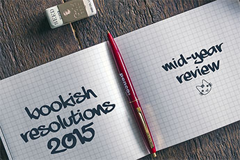 Bookish resolutions 2015 - mid-year review